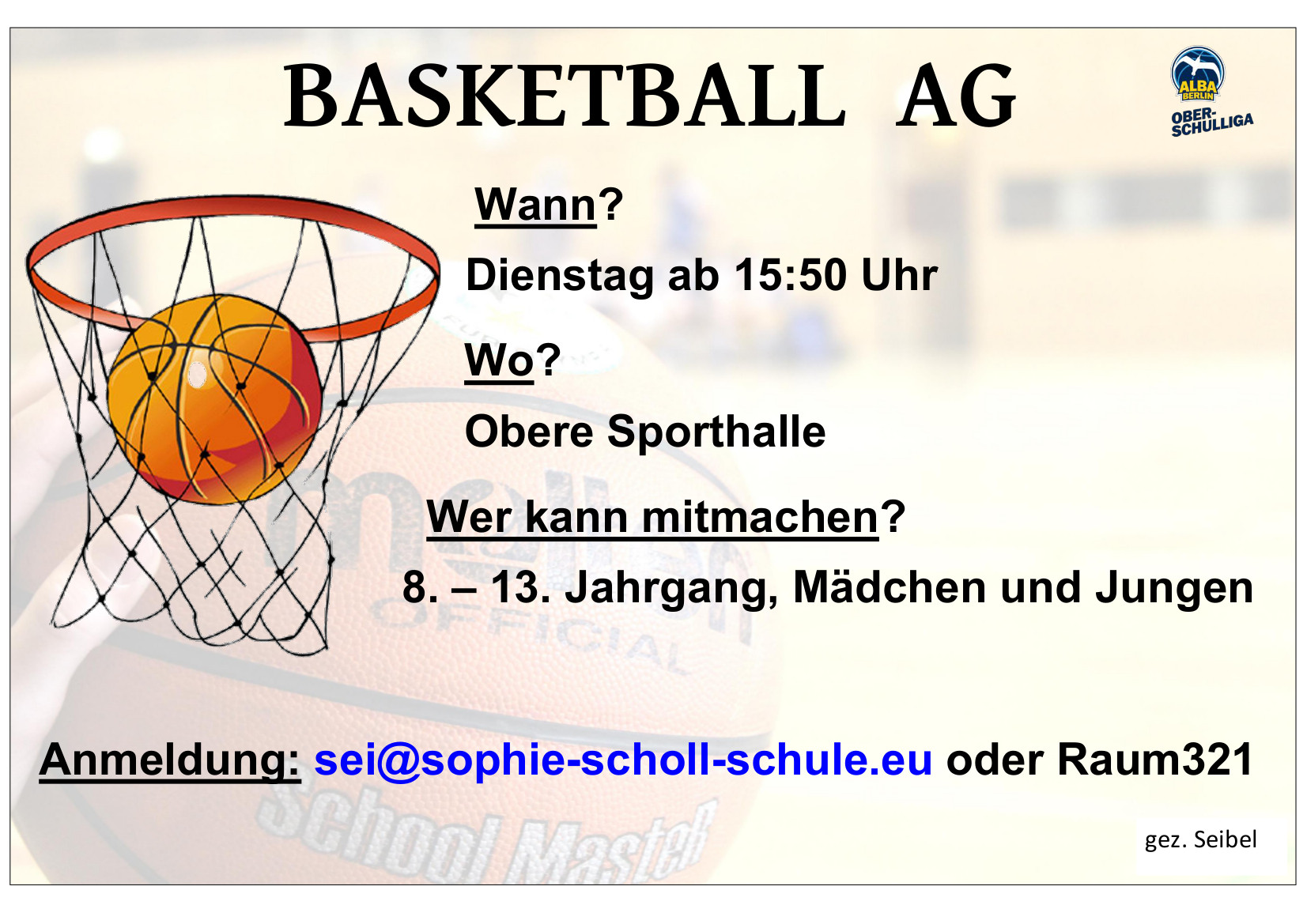BASKETBALL AG 1617